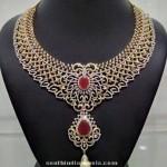 Diamond Necklace Model
