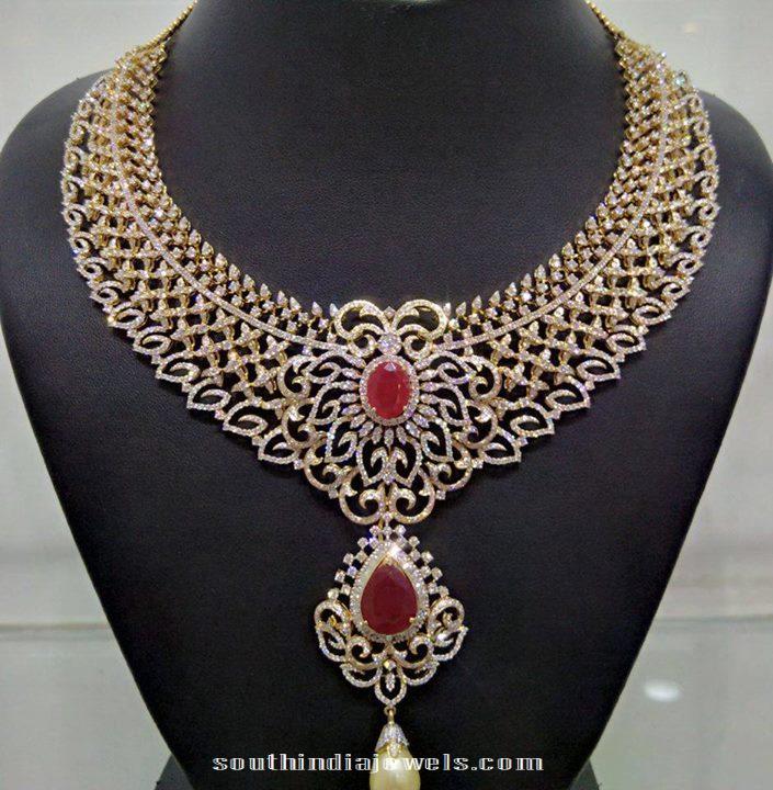 Diamond Necklace for women from NAJ