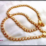 Imitation Kundan Anklet Design