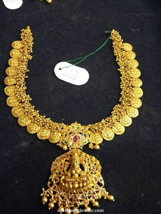 60 Grams Lakshmi Coin Necklace