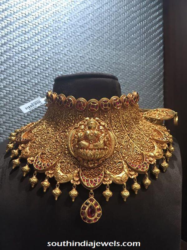 Antique Lakshmi Choker Necklace