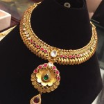Antique Ruby Choker Necklace from PSJ