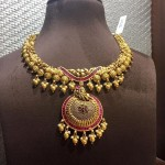 Gold Antique Designer Necklace