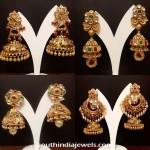 Latest Gold Jhumka Designs