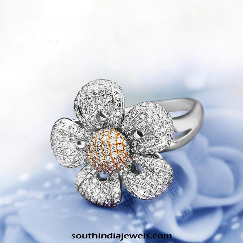 Diamond Wedding Ring from GRT Jewellers South India Jewels