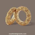 Gold Bangles Design from TBZ