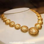 Gold Italian Style Necklace From Manubhai Jewellers