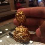 Latest Gold Jhumka Design