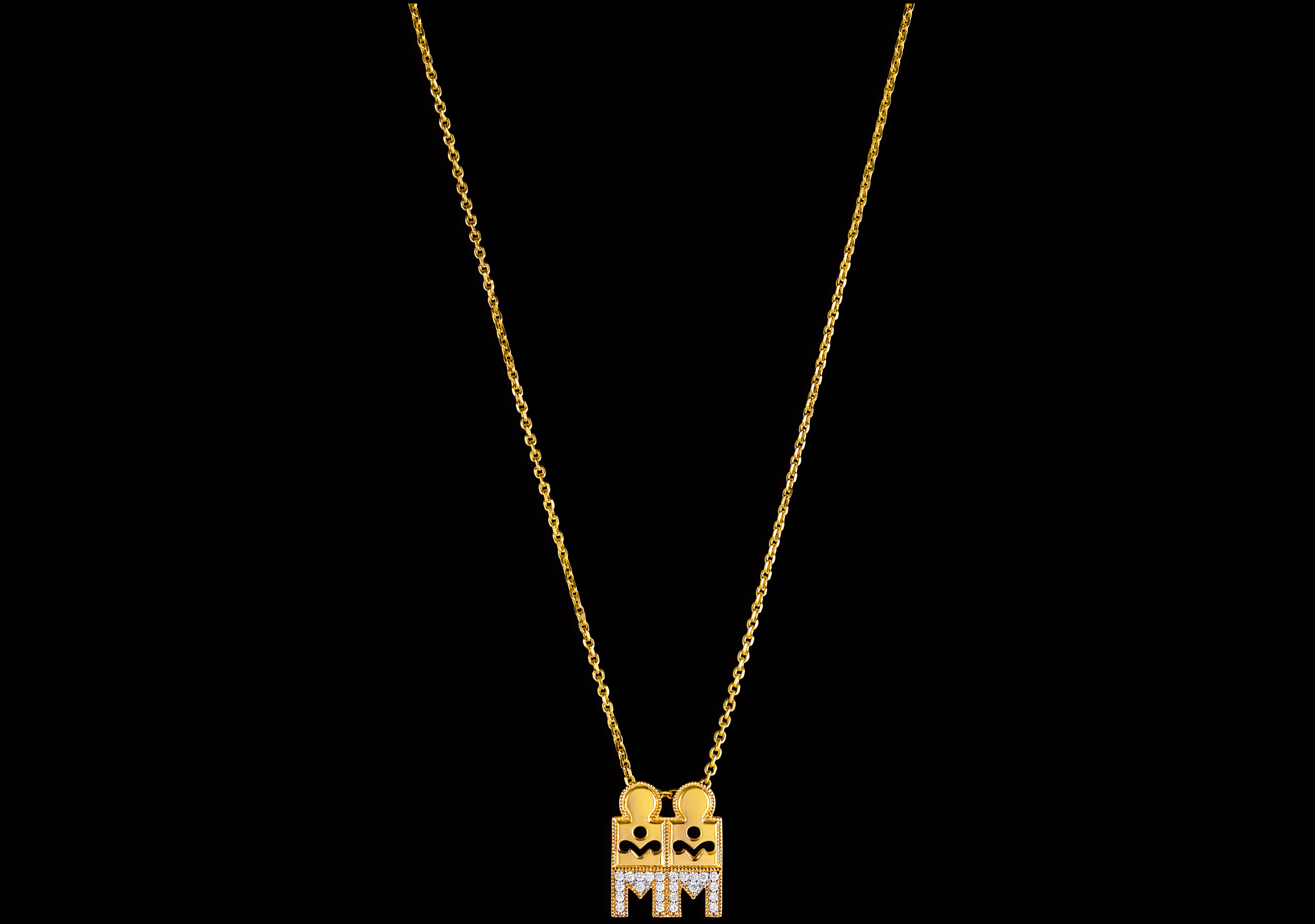 22K Gold Mangalsutra Chain Designs from Tanishq South India Jewels