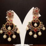 Gold Polki Earrings from NAJ