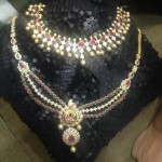 Latest Model CZ Stone Necklace Collections