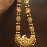 Gold Bridal Antique Long Necklace
