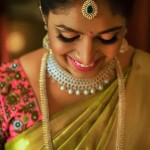 South Indian Bride in Diamond Jewelleries