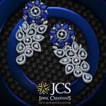 Diamond Earrings from JCS Creations