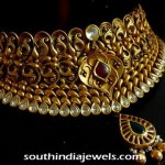 Grand Gold Antique Polki Choker