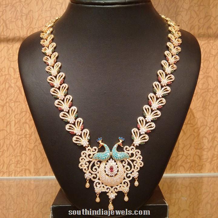 Gold Bridal Stone haram from NAJ