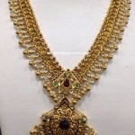 100 Grams Gold Antique Necklace