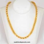 22K Gold Chain Design