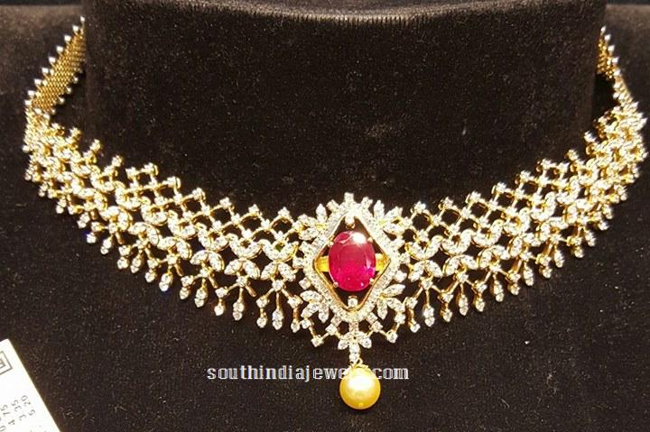 Latest Design Diamond Necklace from BJ