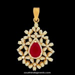 Diamond Pendant from Kothari Jewellery