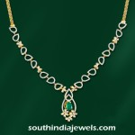 Stylish Designer Diamond Necklace