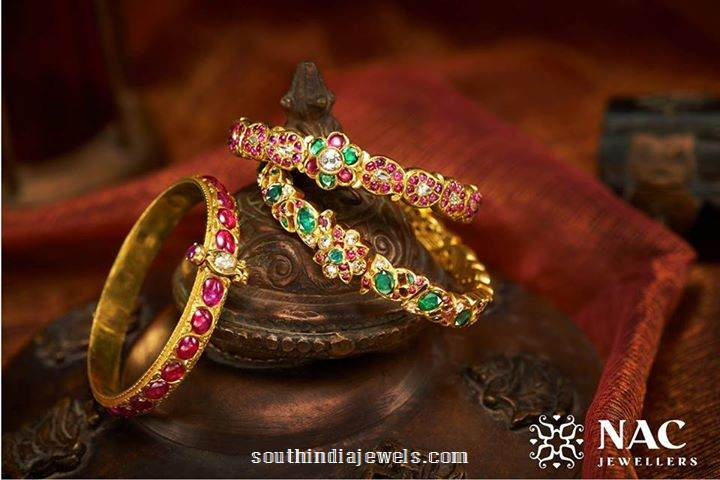 Gold Bangle Design from NAC Jewellers
