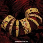 Gold Bangles Designs from GRT Jewellers