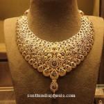 Diamond Peacock Necklace from Manbhai