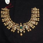 Latest Model Gold Polki Necklace 2015
