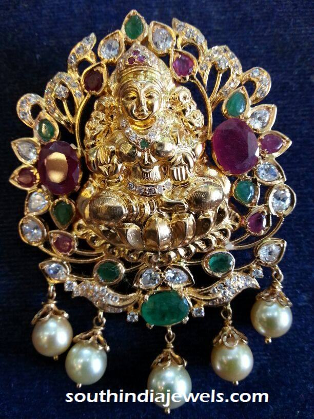 Lakshmi Stone Pendant