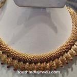 Latest Gold Kasumalai Necklace