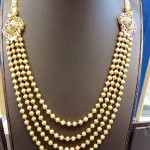 Multilayer Gold Ball Haram with Side Mogappu
