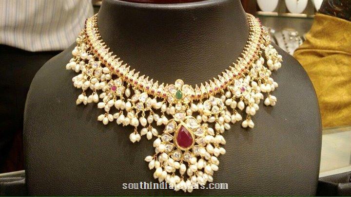 Pearl Guttapusalu Necklace