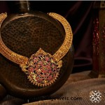 Gold Antique Necklace from NAC