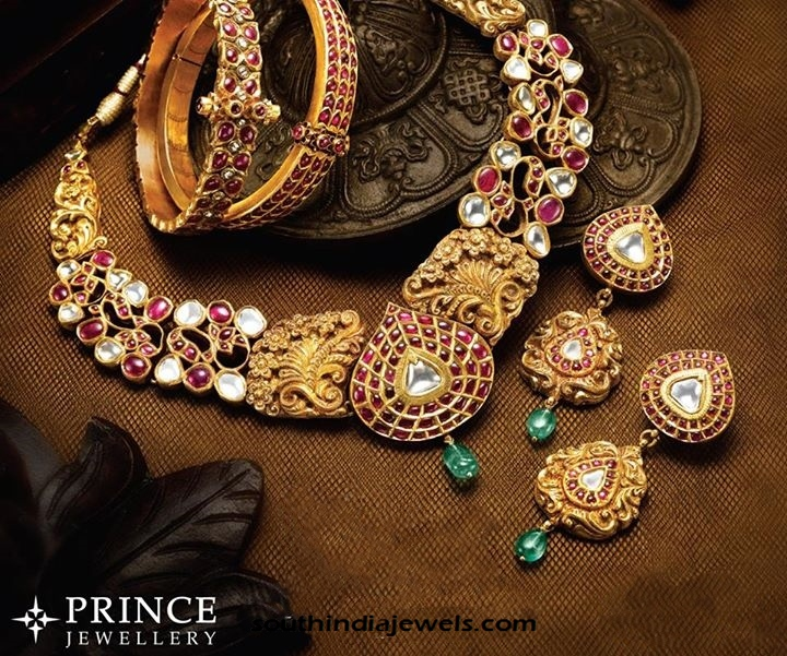 Antique gold jewellery collections from Prince Jewellery