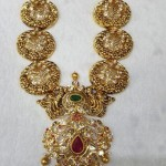 Gold Antique Long Necklace from SBJ