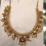 124 Grams Gold Guttapusalu Necklace