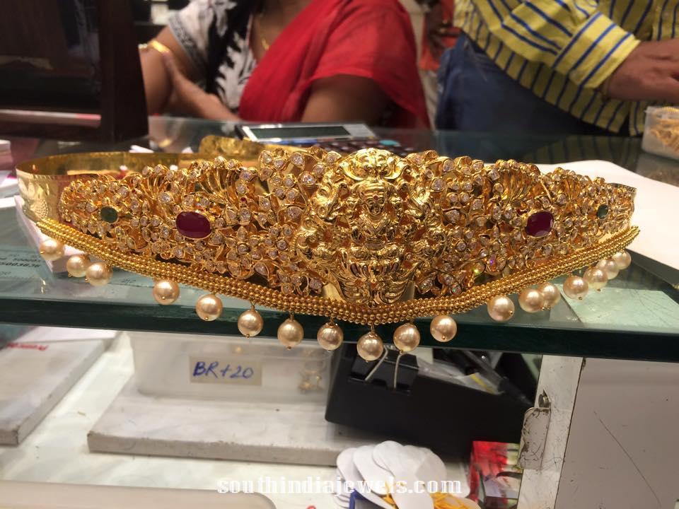 220 Grams Gold Lakshmi Vadanam