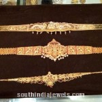 22K Gold Vadanam (Ottiyanam) designs