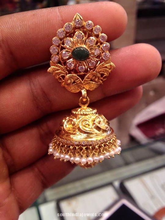 40 Grams Gold Jhumki
