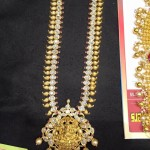 55 Grams Gold CZ Stone Long Haram