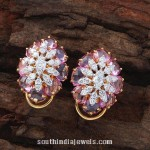 Designer Diamond Ear Studs