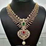 Latest Diamond Jewellery Necklace Model from NAJ