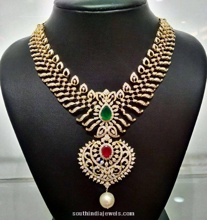 Diamond Jewellery Necklace model from NAJ