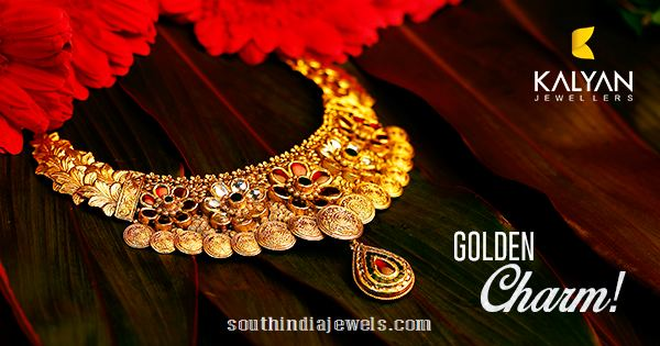 Goin Floral Necklace from Kalyan Jewellers