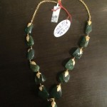 Gold Emerald Mala Design