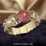 Gold Antique Bangle from C Krishniah Chetty and Sons