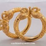 22K Gold Kada Bangle