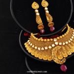 Gold Choker Necklace Set from Josalukkas
