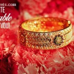 Gold Kada Bangle From Kalyan Jewellers